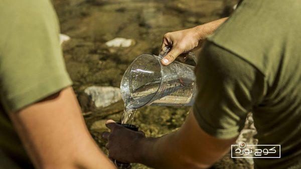 ترفندهای تصفیه آب آلوده به آب آشامیدنی در طبیعت