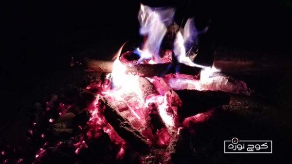 آتش شبانه - عکاس: آیتا سبحانی