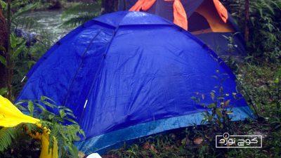 چطور چادر مسافرتی رو تمیز کنیم؟