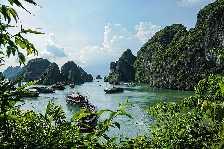 خلیج ها لانگ، ویتنام