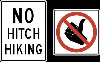علامت هیچهایک ممنوع